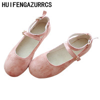 91f93d884 Careaymade College New Women S Shoes Small Fresh White Shoes Button Single  Shoes Korean Version Baitao. US $49.60 US $27.28. Careaymade Faculdade  Sapatos ...