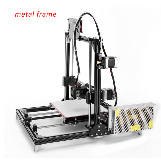 Metal Frame RepRap Prusa i3 DIY 3d printer with one roll filament 8G SD Card_640x640 metal frame reprap prusa i3 diy 3d printer with one roll filament  at gsmx.co