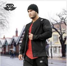 2016 herbst männer marke kleidung casual bomber Gymshark jacke mode jacke jeansjacke männer