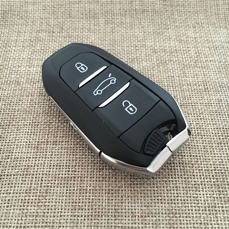 Smart Car Key Replacement >> 3 Buttons Smart FOB Key 433mhz ID46 Keyless Fit For ...