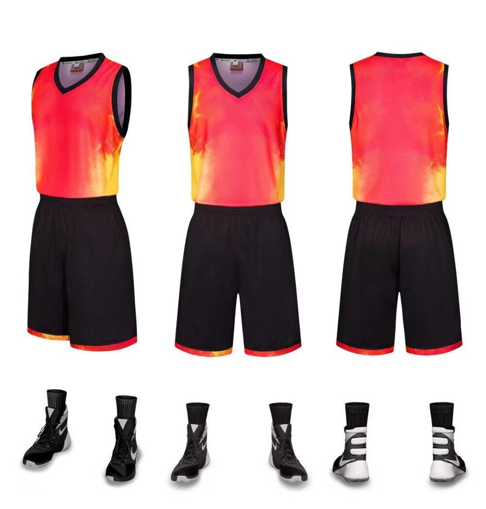 2017 New Men Women Basketball Jersey Sets Uniforms ...
