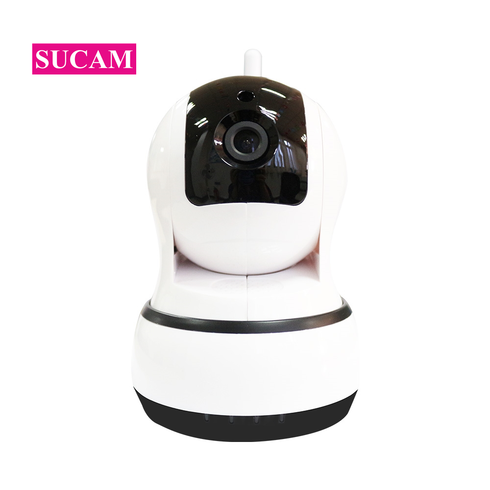 SUCAM Mini Wifi Camera 720P HD Auto Tracking Pan Tilt CCTV Camera Email Alerm Two Way Audio Wireless Camera Support TF Card