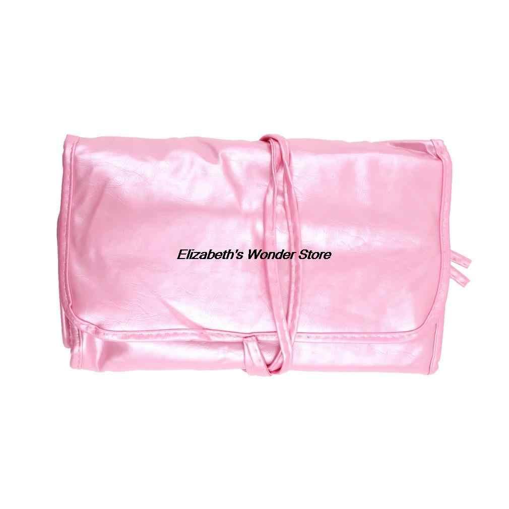 32 pçs/set Superior Suave ROSA Maquiagem Cosméticos Escova Kit Com Bolsa Case Bag