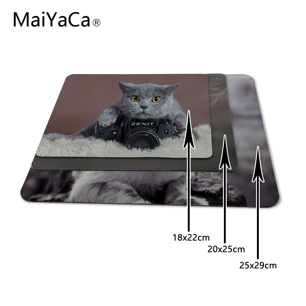 MaiYaCaLuxe Afdrukken Grijze kat met een Zenit-camera Spelontwerp - Computerrandapparatuur - Foto 2