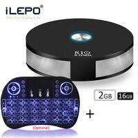 iLEPO R10 Android 8.1 TV Box RK3328 Quad Core 2GB 16GB 2.4+5.0GHz Dual WiFi 4K H.265 Bluetooth 4.1 USB3.0 IPTV Smart