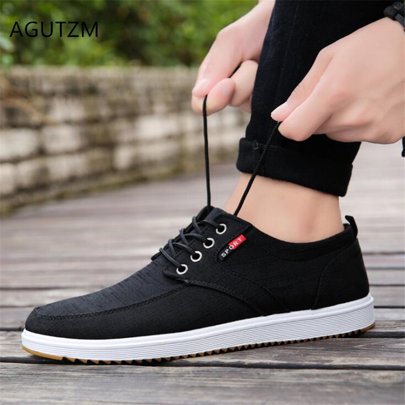AGUTZM Men's Shoes Sneakers Men Breathable Fashion Summer Skid Wild Y188 Low-Help