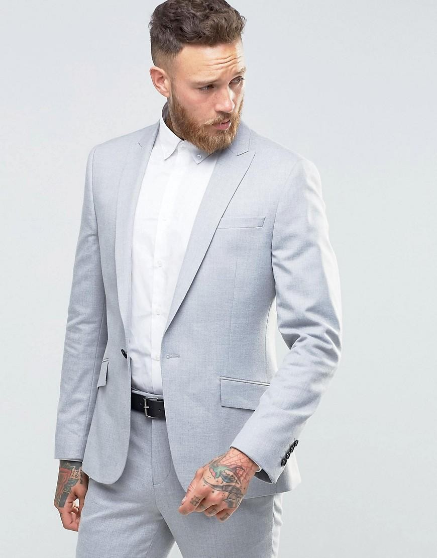 Compare Prices on Light Grey Blazer- Online Shopping/Buy Low Price ...
