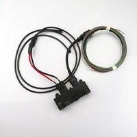 SCJYRXS 9 PIN Car Trunk Foot kicking Sensor Switch + Plug Cable NEW For A4 A4Q A5CA RS4 RS5 3AA 962 243H 4H0973705 3AA962243D