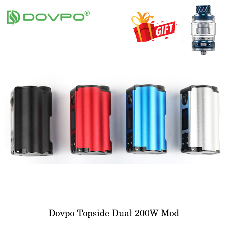 electronic cigarette DOVPO Topside Dual 200W Top Fill TC Squonk 10ml Powered By Dual 18650 Battery
