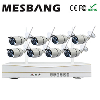 Mesbang 960P 8ch Wifi Wirless Outdoor Cctv Camera Delivery Very Fast By DHL Fedex