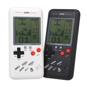 Classic Game Console handheld Tetris Block Game Puzzle Games Handheld Game Machine gift for Children #S0