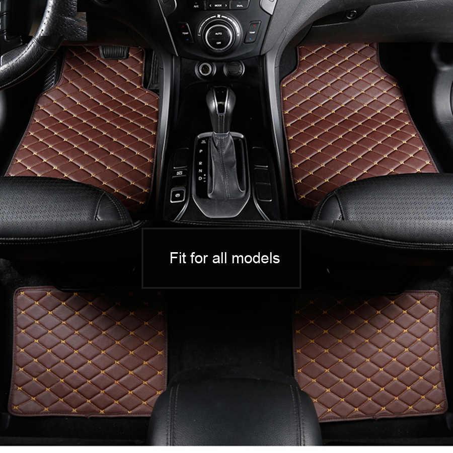 Araba kat mat MINI Cooper Için R50 R52 R53 R56 R57 R58 F55 F56 F57 Countryman R60 F60 araba aksesuarları tasarım araba halı