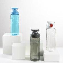 FEIJIAN 600ml Sport Water Bottles Outdoor Travel Portable Leakproof Tritan plastic Drink Bottle BPA Free
