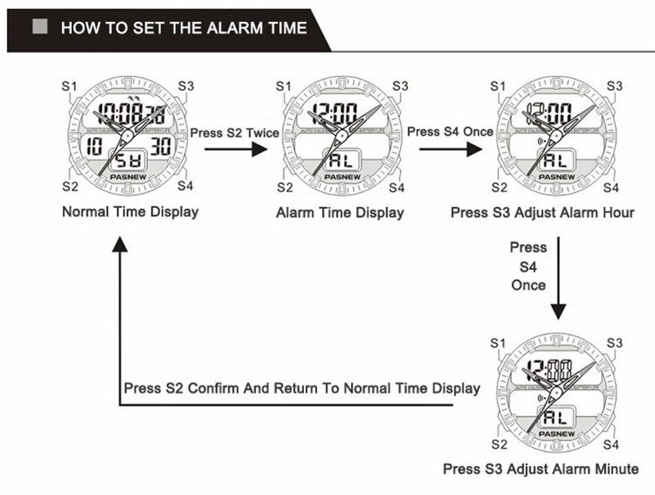 361 - detail - 2018 Free Shipping Fashion Men Watch Waterproof Sport Men Wristwatch S Quartz Digital Boy Clock Relogio Masculino (13)