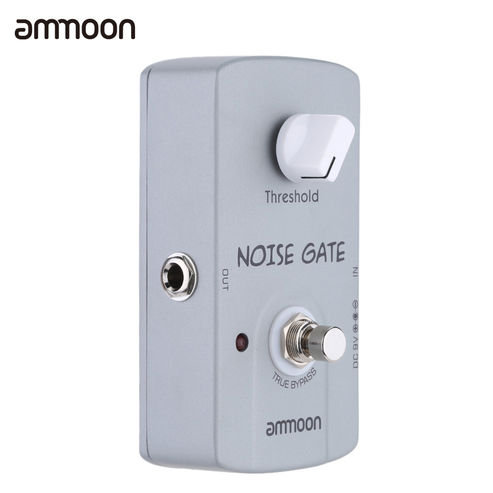ammoon ap 06 noise gate electric guitar effect pedal noise suppressor true bypass in guitar. Black Bedroom Furniture Sets. Home Design Ideas
