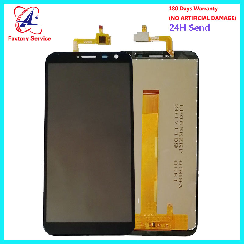 For 100% Original Oukitel C8  LCD Display+Touch Screen Panel Digital Replacement Parts Assembly 5.5 Inch +Adhesive LCD Glass