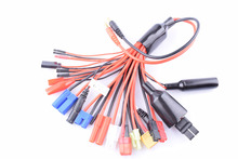 19 in 1 RC Lipo Battery Multi Charger Plug Adapter lead  Converter Charging Cable for rc car and plane accessories 89mm 3 5inch 2 balde aluminum spinner special drilled for rc plane with prop adapter