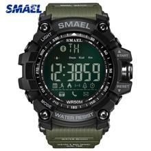 цена 2019 SMAEL Sport Watch Men Top Luxury Brand Military 50M Waterproof Wristwatch Clock Men's LED Digital Watches Relogio Masculino онлайн в 2017 году