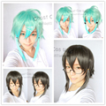 Dos colores opcionales espada de arte en línea Asada Shino peluca Sinon pelo sintético Japanese Anime Cosplay peluca resistente al calor de fibra