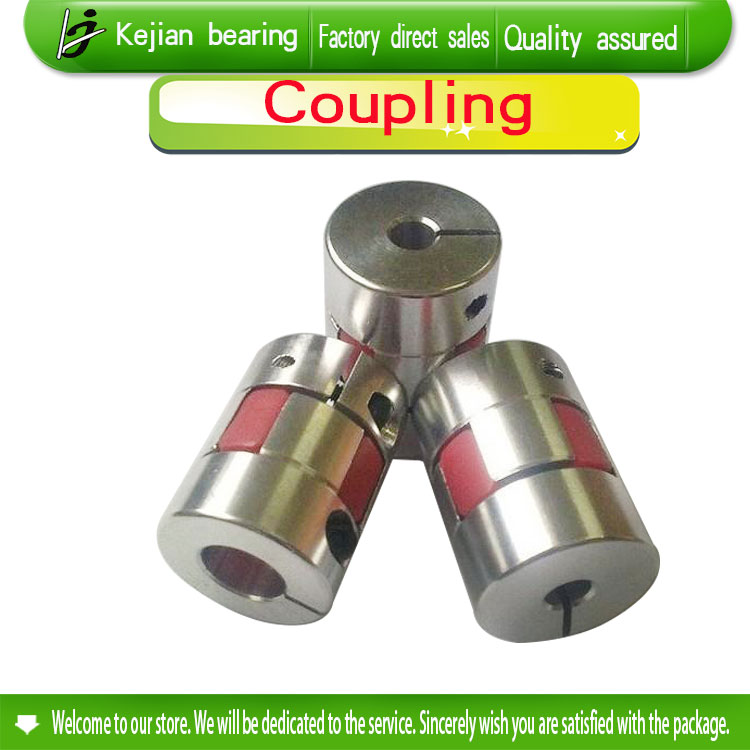 3PCS D25 L30 8mm to 8mm Jaw Shaft Coupling Spider Stepper Motor Shaft Coupler SpiderFlexible Shaft Couplings CNC part flexible shaft coupling od18mmx25mm cnc stepper motor coupler connector 6 35 to 8mm