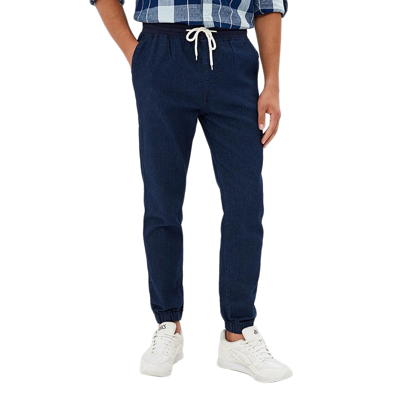 Jeans MODIS M182D00163 for pants male clothes apparel for male for man TmallFS 2017 plus size s 8xl mens blue denim jumpsuits fashion bib overalls with pockets for male men jeans suspender bib pants 071201