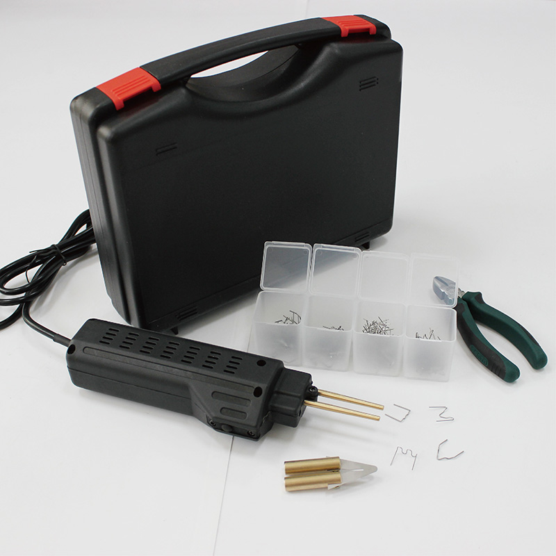 220V Hot Spot Welder for auto car plastic bumper welding with 200 staples