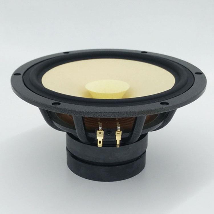 HF-251 HiFi Speakers  8 Inch HIFI Full-range Speaker High Sensitivity Gallbladder Good Match Pure Cone Full-range Speakers