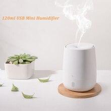 สำหรับXiaomi Youpin 120ML USB Mini Air Humidifierน้ำมันหอมระเหยอัลตราซาวด์กลิ่นAroma Diffuser Mute LED Light Mist Makerค่อนข้างสำหรับHome