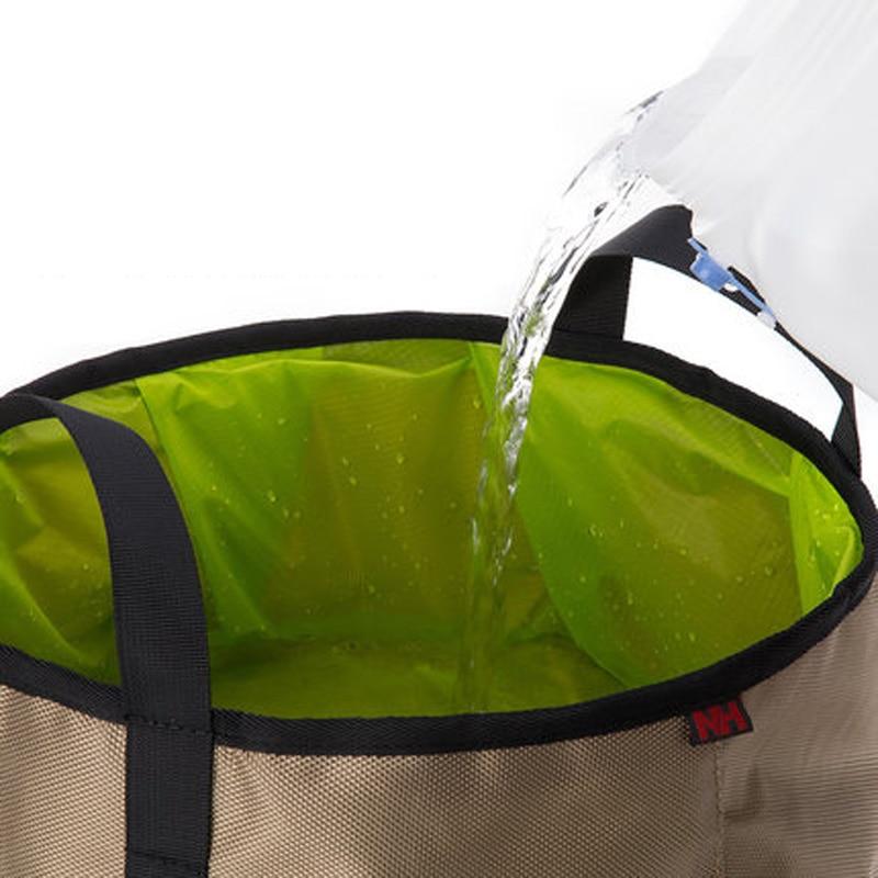 Sac deau ext/érieure pliable Lavabo Lavabo Footbath /évier pour le camping khak