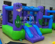Best quality with blower inflatable bouncer sale