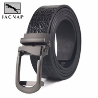 HIGH Quality Mens Belt Luxury High Quality Cow Genuine Leather Belts For Men Automatic Buckle Fashion