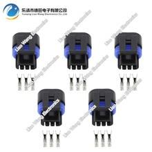 5PCS 3 pin 1.5A jacket sensor plug Delp replace parts with terminal DJ7039YA-1.5-21