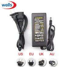 LED Питание 5 В 12 В 24 В 2A 3A 5A 7a 8a 10A для 5 В 12 В 24 В светодиодные полосы света