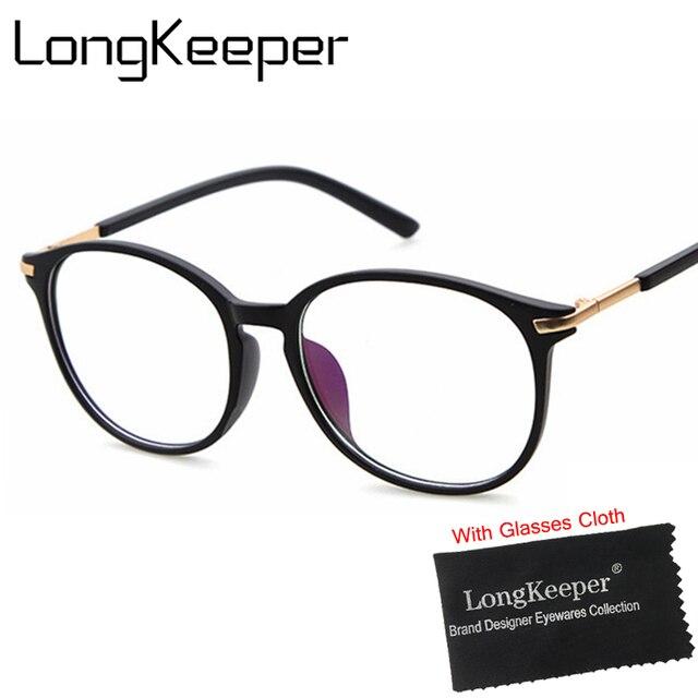 c53367dfb3 LongKeeper Brand Design Glasses Frame 2017 New Fashion Eyeglasses Optical  Glasses Sexy Eyewares Retro Vintage gafas De Grau