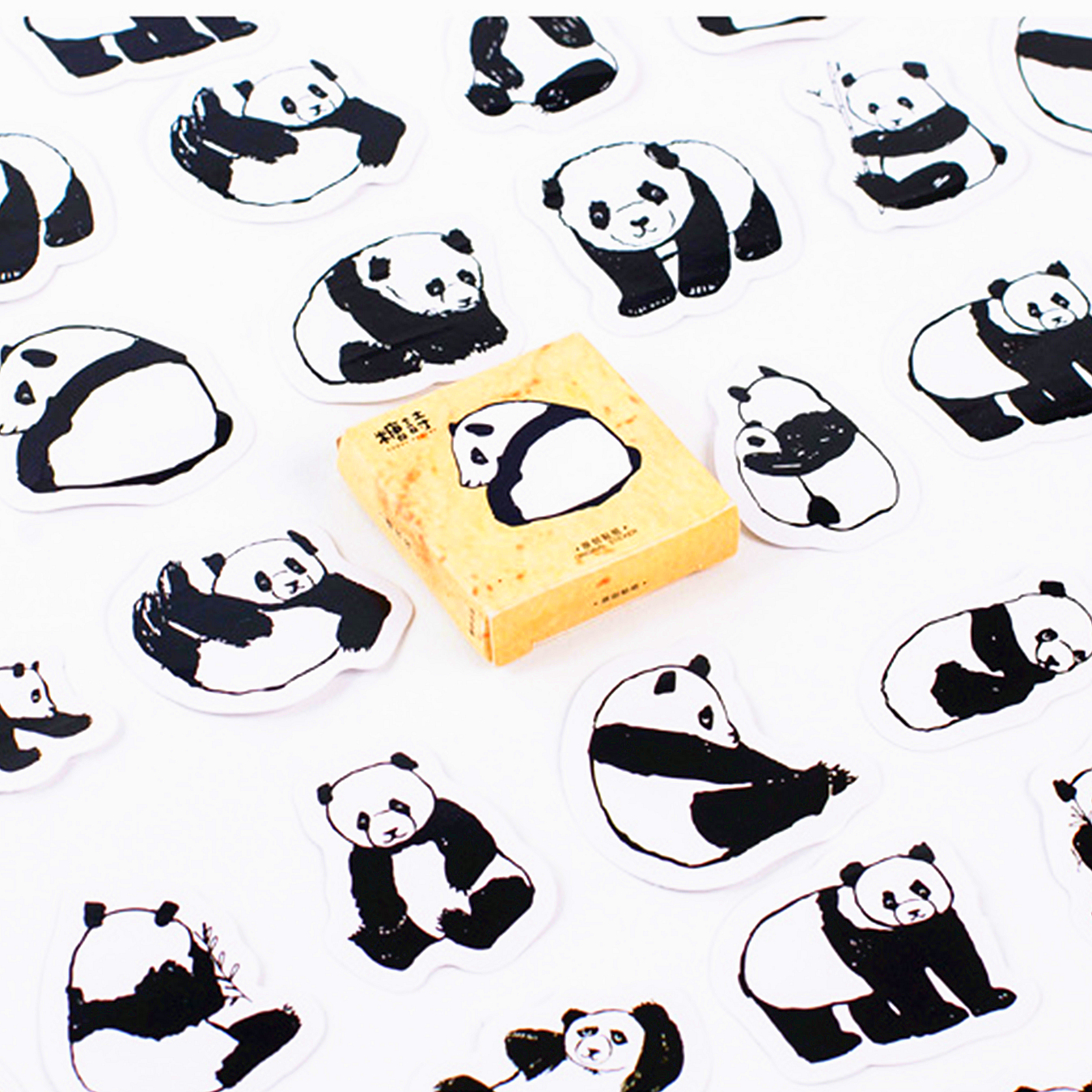 Memo Pads Trend Mark 1pcs 2019 Treasure Panda Memo Pad Diary Stickers Pack Posted It Kawaii Planner Scrapbooking Stationery Escolar School Supplies