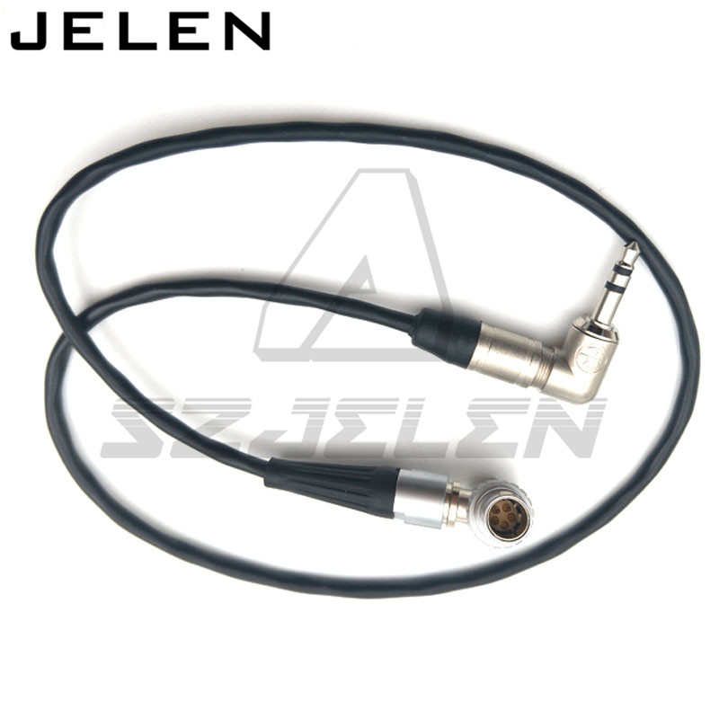 Timecode câble pour Tentacule Sync 3.5 audio plug à Lemo 5pin. pour ARRI ALEXA mini/xt sound devices, Zaxcom, Lockit. 50 cm