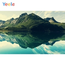 Yeele Landscape Wallpaper Mountain Forest River Sky Photography Backdrops Personalized Photographic Backgrounds For Photo Studio