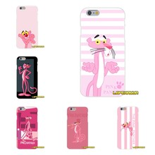 For Samsung Galaxy A3 A5 A7 J1 J2 J3 J5 J7 2015 2016 2017 Accessories Phone Cases Covers Cute Korea Pink Panther Art(China)