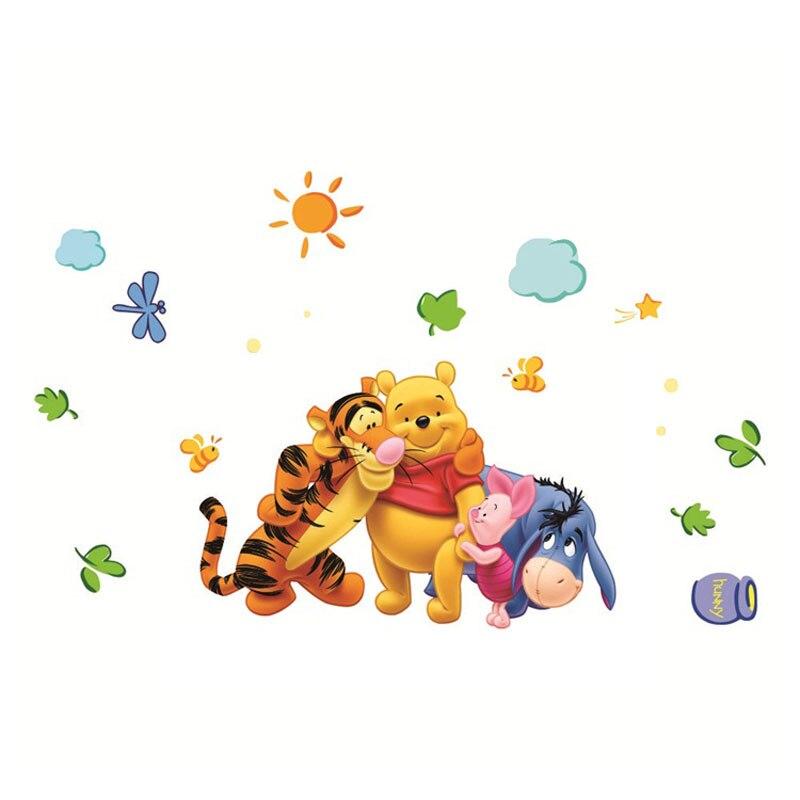 Gau Adesivos ~ Winnie the Pooh Friends Wall Stickers