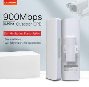 Image 2 - 2 шт. COMFAST CF E313AC 5 км 900 Мбит/с 5,8 ГГц открытый мини беспроводной AP мост WIFI CPE точка доступа 12dBi Wi Fi антенна Nanostation