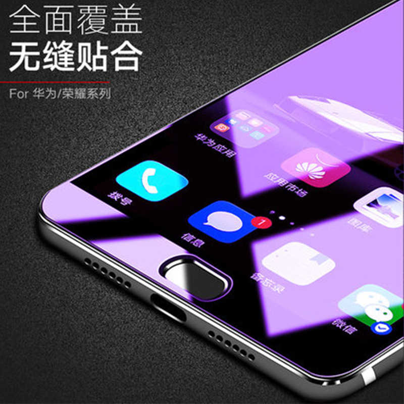 Vente en gros 3 pcs/lot verre trempé protecteur d'écran pour Huawei Honor Play clair et bleu écran Film garde pour Huawei Honor Play