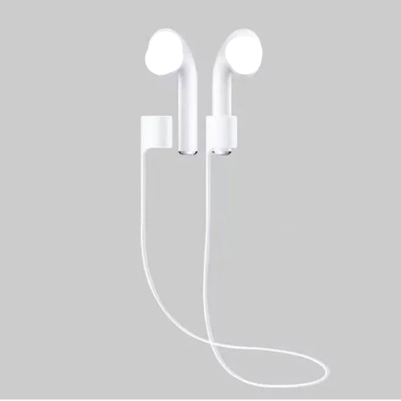 DOITOP Silicone Earphone Anti-Lost Rope Cable For Apple AirPods Strap Earphone Wire For Apple Airpods Earbuds Anti-Lost Rope цена