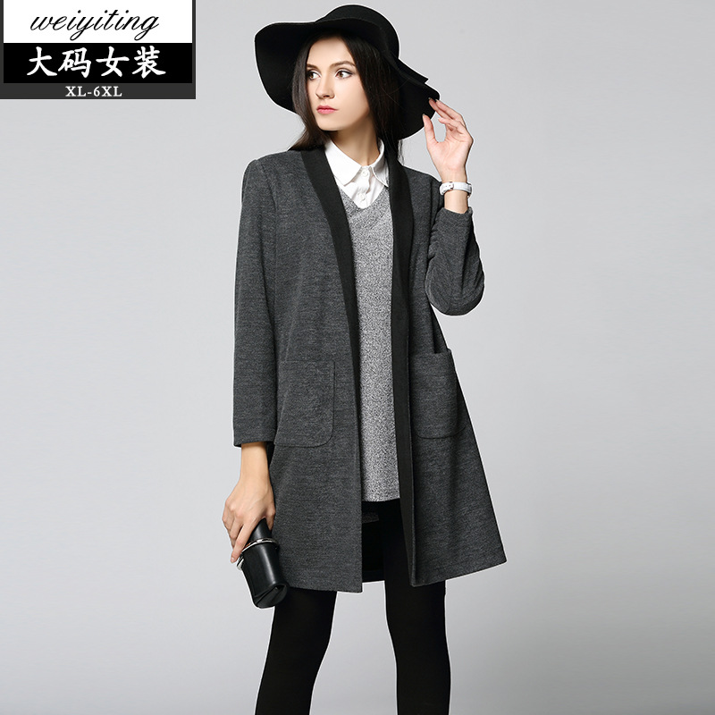 2016 autumn and winter womens new long cardigan jacket Christmas Sweater Pull 2016 New Winter Sweater Cardigan Knitted