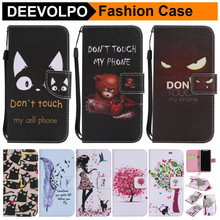 Фотография DEEVOLPO Painted Fundas For iPhone 8 Pattern Covers For iPhone5 5S SE 6S 7 Plus Book Phone Cases For Touch 5 6 Card Slots DP23Z