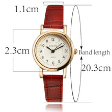 Gogoey Rose Gold Women's Watches Women Watches Small Leather Ladies Watch Women Clock saat montre femme reloj mujer relogio