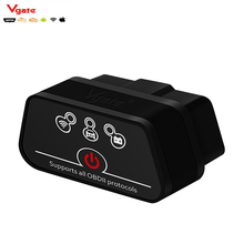 OBD2 Diagnostic Scanner Vgate iCar 2 WIFI / Bluetooth  Version ELM327 OBD2 Code Reader iCar2 For Android/ IOS/PC