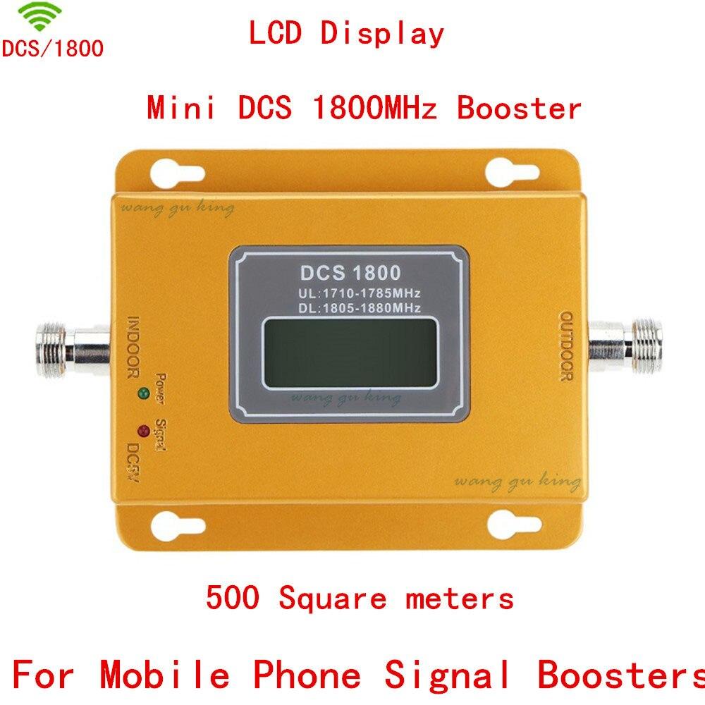 Affichage LCD 70dB Gain ALC GSM 1800 mHz répéteur de Signal de téléphone portable 4G DCS 1800 amplificateur de téléphone portable amplificateur de Signal cellulaire GSM