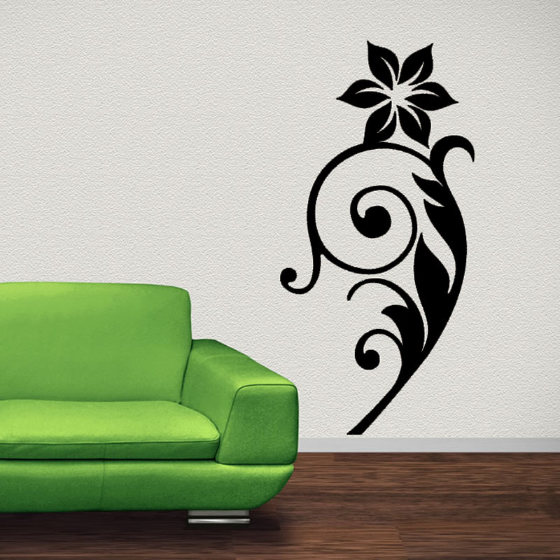 & Buy black swirl wall decals and get free shipping on AliExpress.com