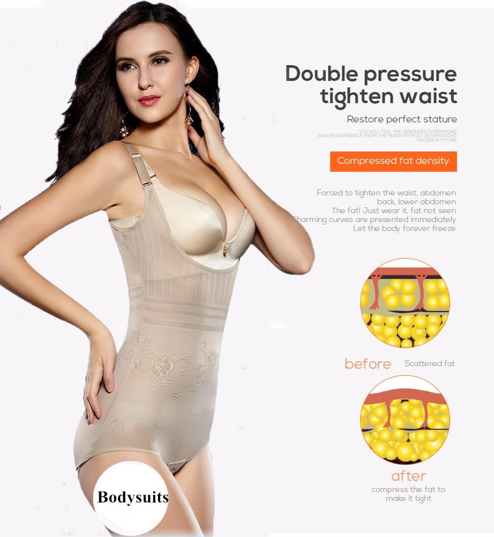 c1cf6d4aca9 Women s Slimming Underwear Bodysuit Hot Body Shaper Waist Shaper ...