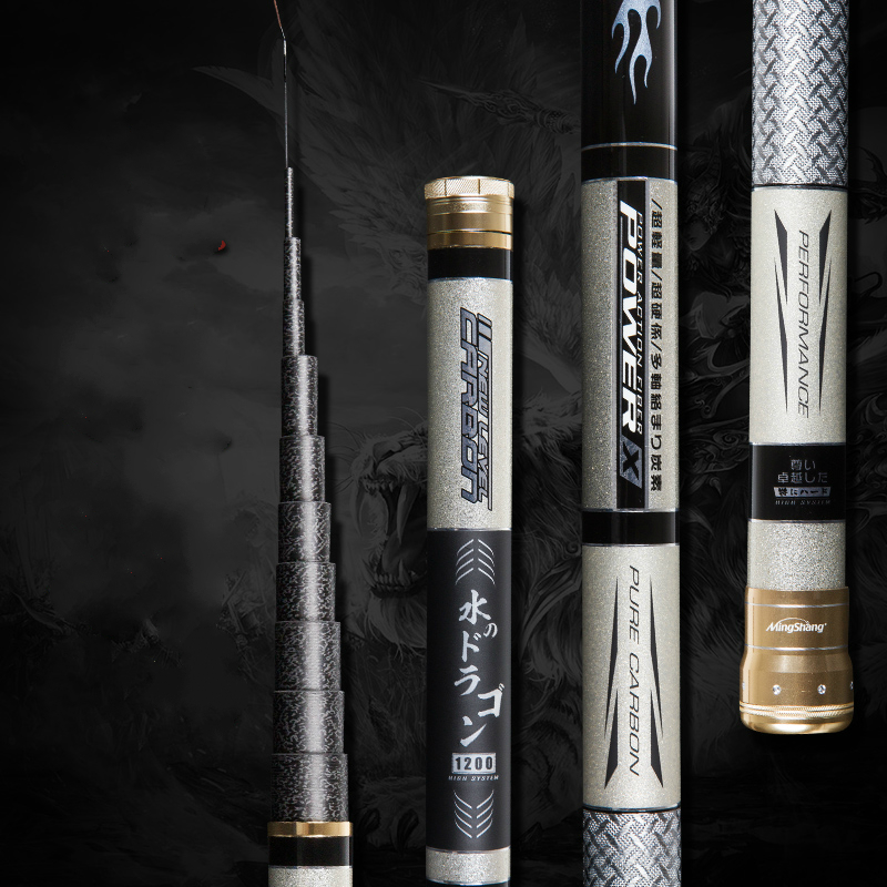 High Quality Fishing Rod Power Hand Rod High Carbon Superhard Ultralight 8 9 10 11 12